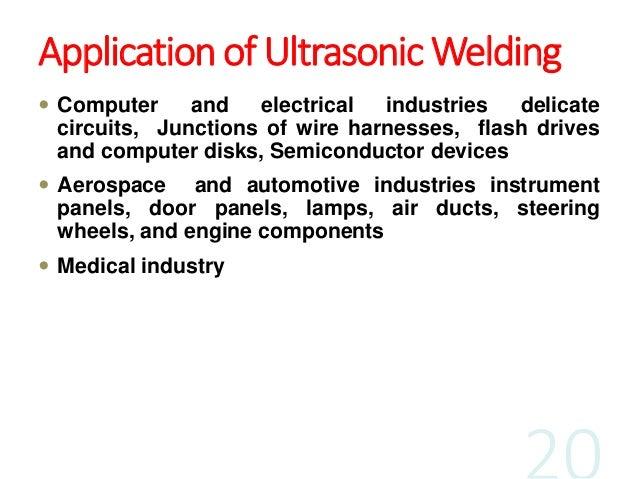 ultrasonic welding process parameters pdf