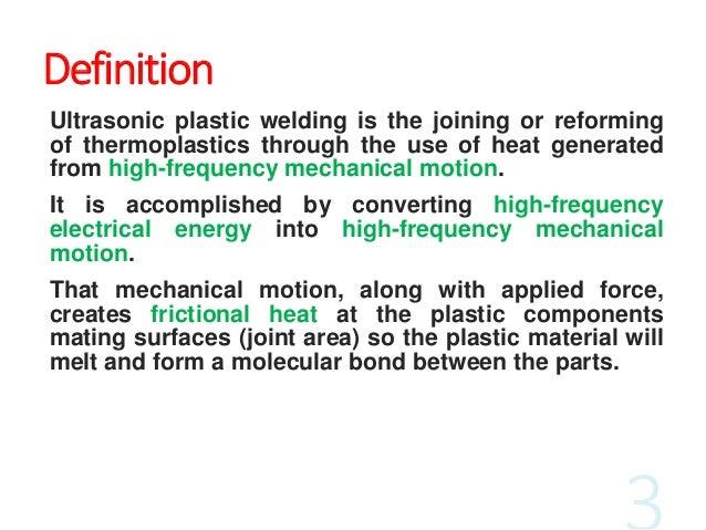 How to Use Those Fancy Ultrasonic Welding Controls ultrasonic welding defined