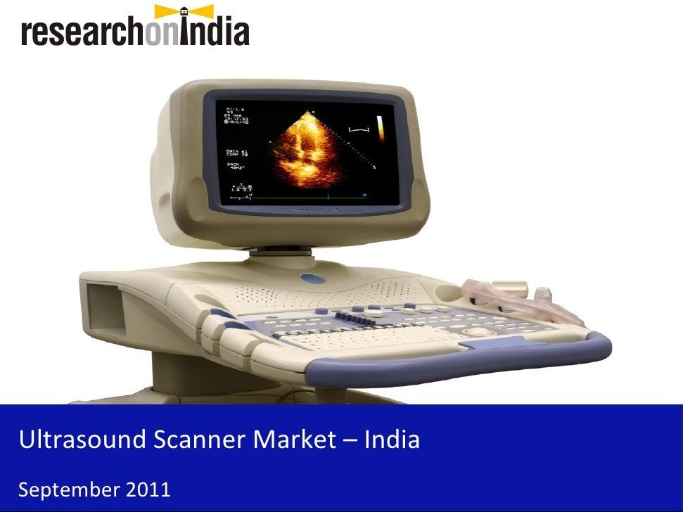 Insert Cover Image using Slide Master View                                Do not distortUltrasound Scanner Market – IndiaS...