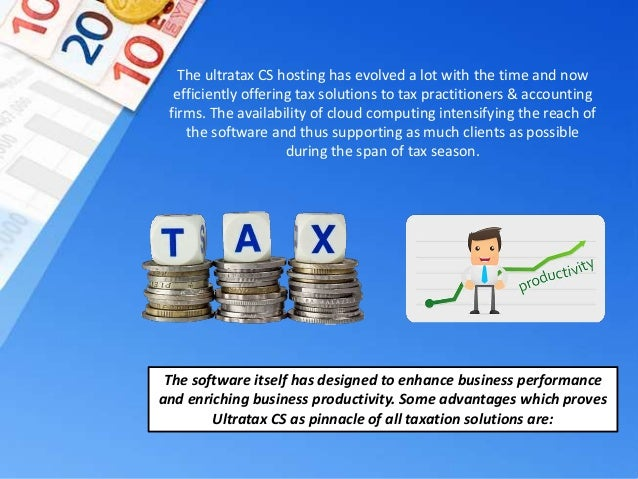 Ultratax CS Hosting Pinnacle Of Taxation Solutions