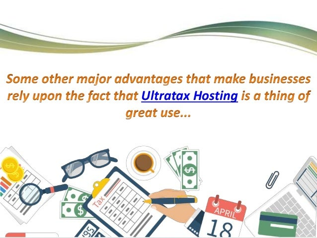 Ultratax Cloud Hosting Will Be A Thing Of Great Use And