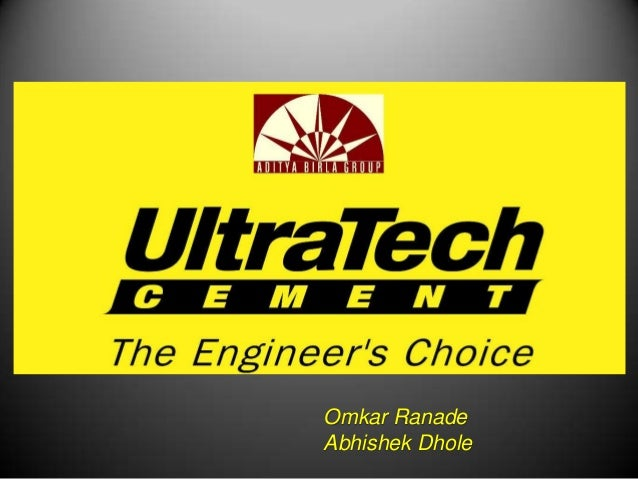 Ultratech Cement Variety : Marketing and csr activities of ultratech cement