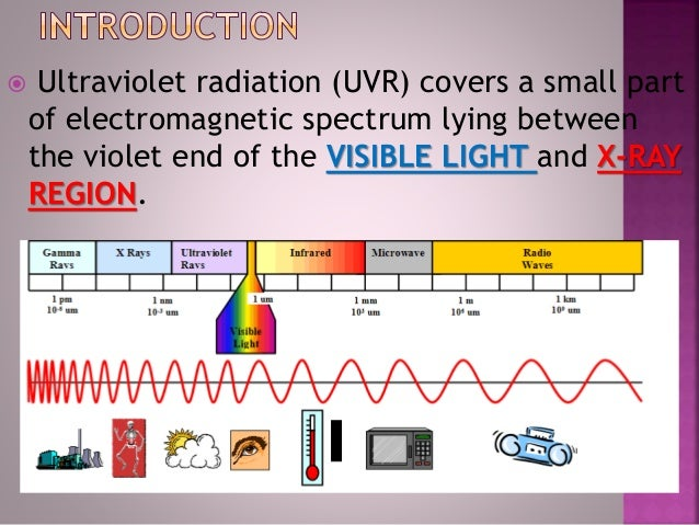 ultra violet rays