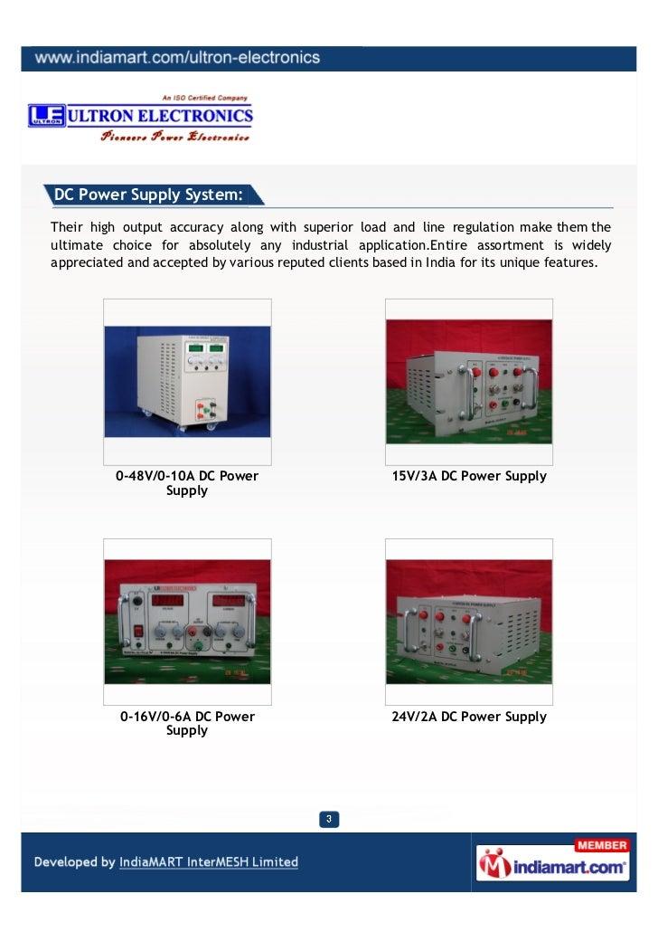 48v Dc Power Supply India