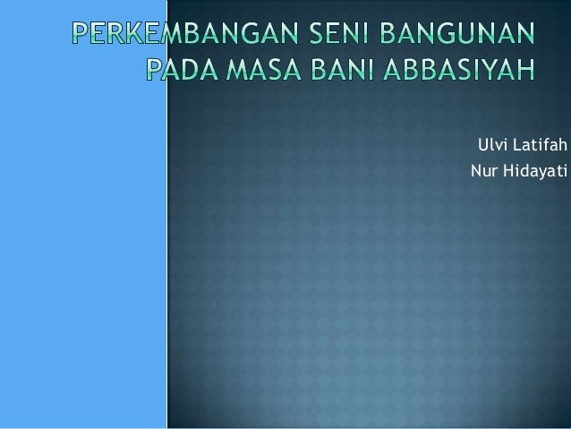 Ulvi Latifah Nur Hidayati