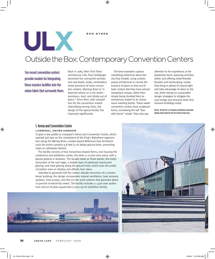 ulx                                                 r o n  n y r e n     Outside the Box: Contemporary Convention Center...