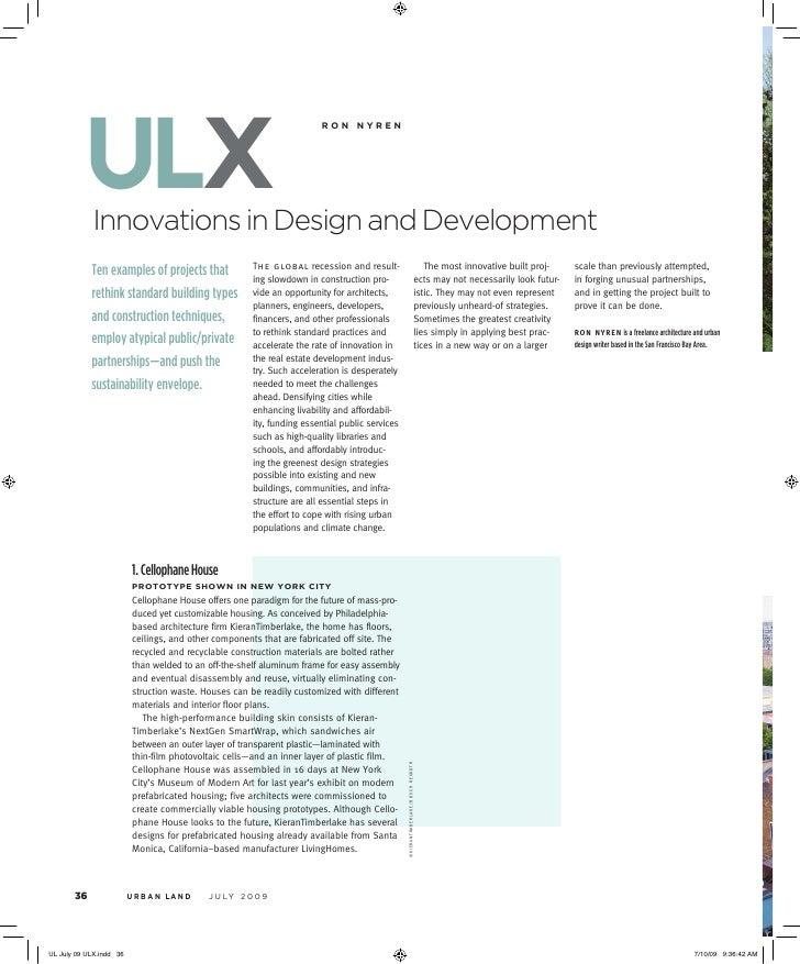 ulx Innovations in Design and Development                                                    ronnyren                    ...