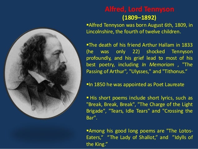 ulysses tennyson analysis essay Tennyson sets the narrative as king ulysses from the beginning of the poem  we will write a custom essay sample on how does tennyson use poetic methods.