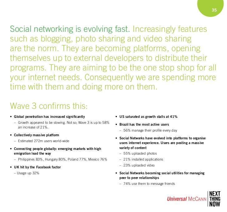 Universal Mccann International Social Media Research Wave 3