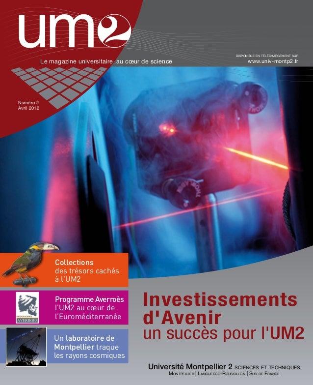 disponible en téléchargement sur             Le magazine universitaire au cœur de science                                 ...