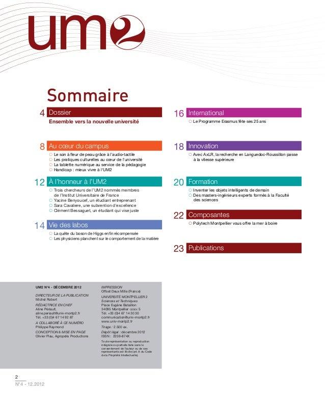 Sommaire           4     Dossier                                                                    16   International    ...