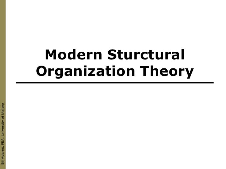 Bill Adams, FEA, University of Malaya                                              Modern Sturctural                      ...