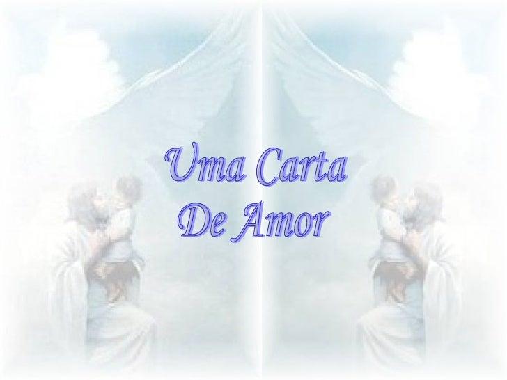 Uma Carta de Amor Uma Carta  De Amor