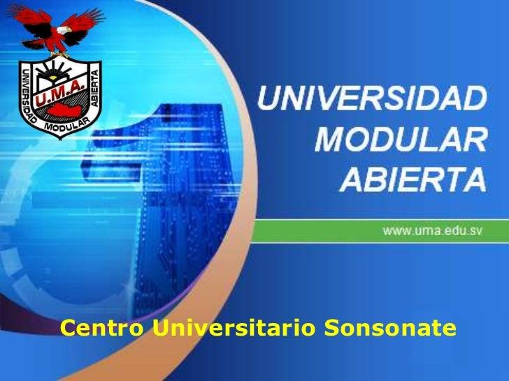 Centro Universitario Sonsonate<br />