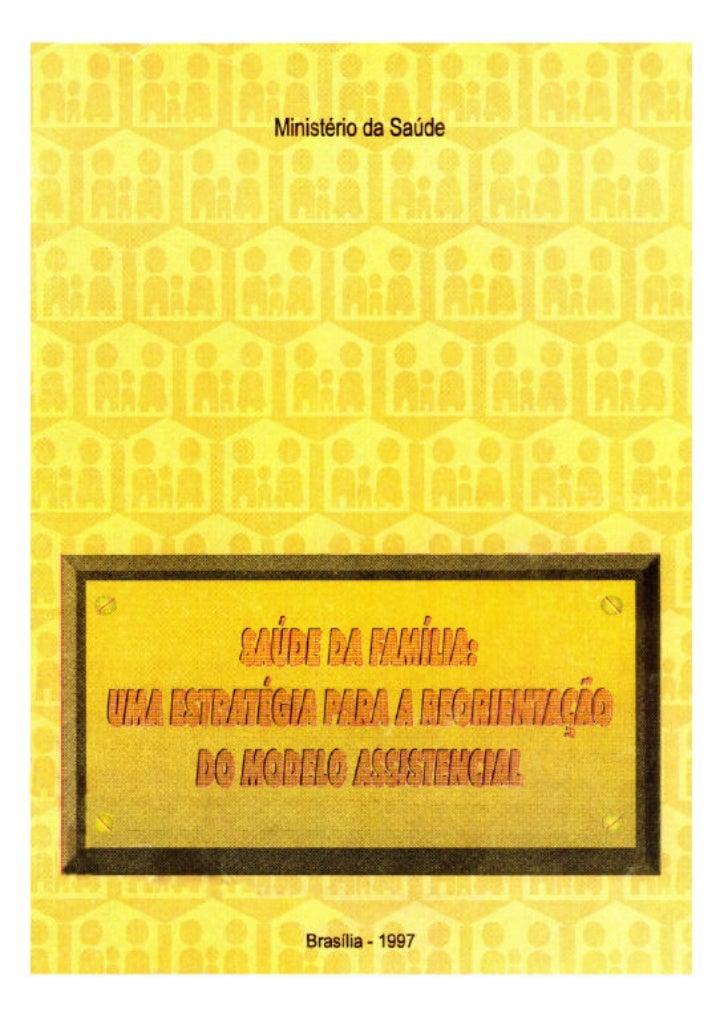 Ministério da Saúde  Brasília - 1997
