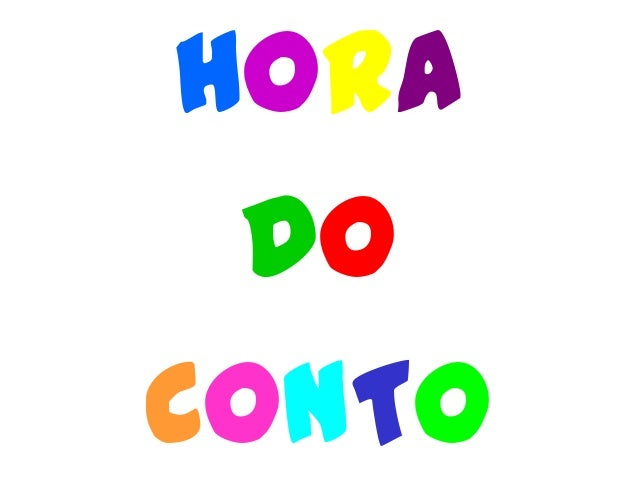 HORA DO CONTO