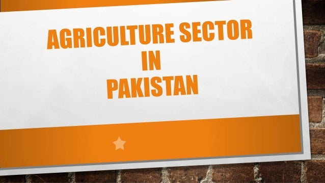 • About 25% of Pakistan's total land area is under cultivation • It is watered by one of the largest irrigation systems in...