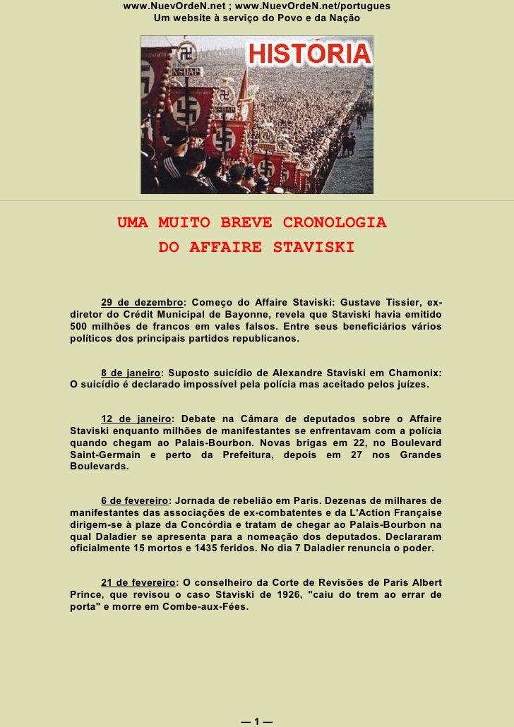 www.NuevOrdeN.net ; www.NuevOrdeN.net/portugues               Um website à serviço do Povo e da Nação              UMA MUI...