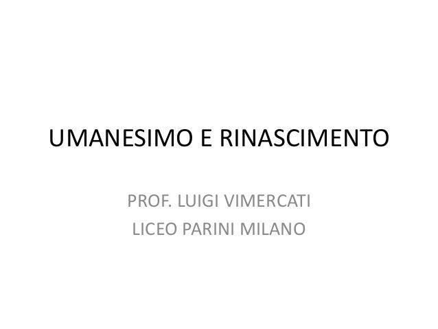 HUMANISMO E RINASCIMENTO PDF