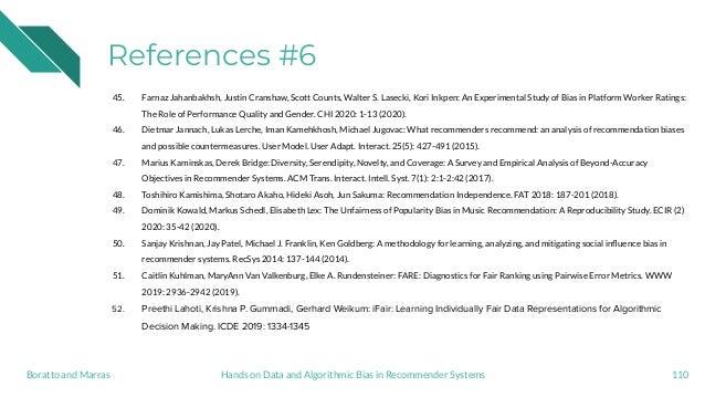 References #6 45. Farnaz Jahanbakhsh, Justin Cranshaw, Scott Counts, Walter S. Lasecki, Kori Inkpen: An Experimental Study...