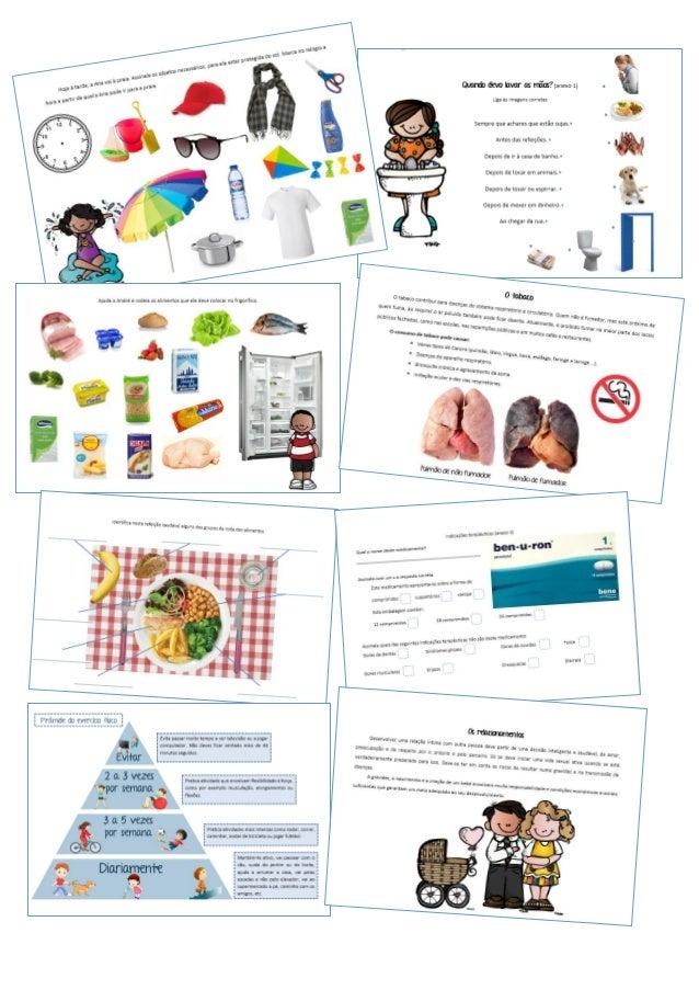 Educação para a Saúde, Alunos CEI - Amostra Slide 2
