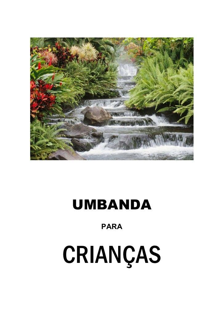 UMBANDA   PARACRIANÇAS