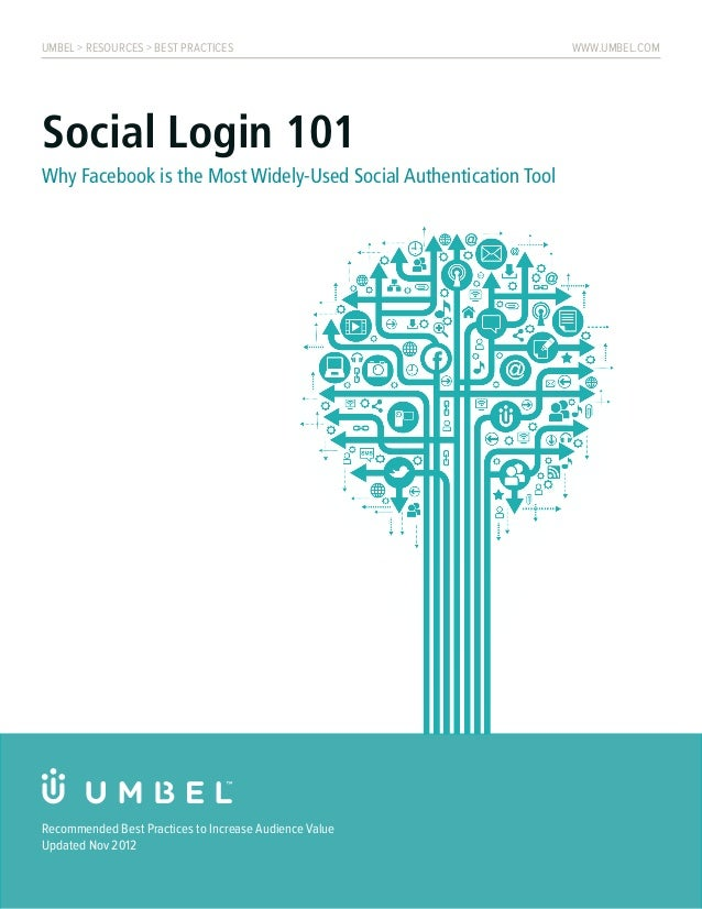 UMBEL > RESOURCES > BEST PRACTICES                                www.umbel.comSocial Login 101Why Facebook is the Most Wi...