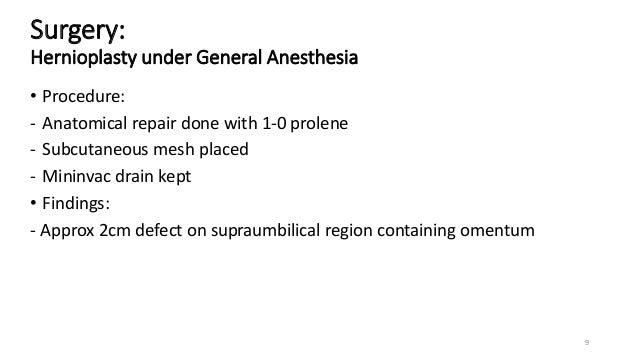 Umbilical Paraumbilical Hernia Saral