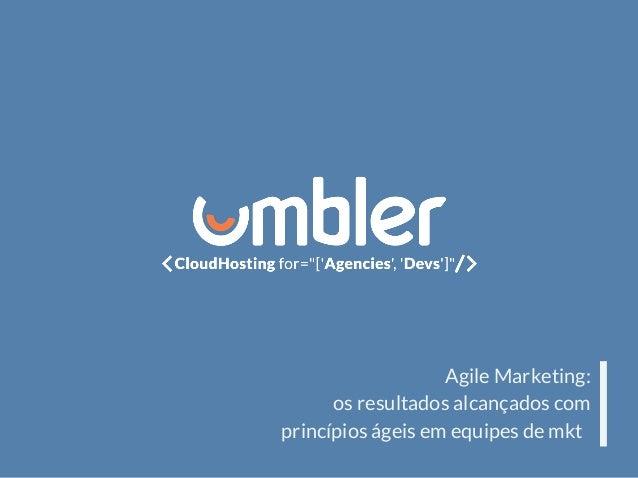 Agile Marketing: os resultados alcançados com princípios ágeis em equipes de mkt