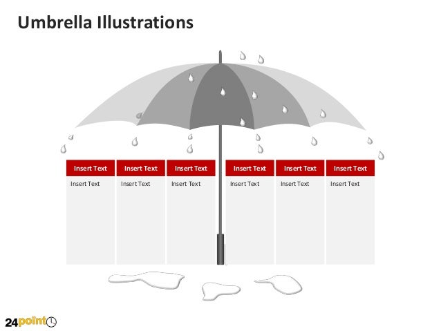 Umbrella illustration editable powerpoint umbrella illustrations toneelgroepblik Images