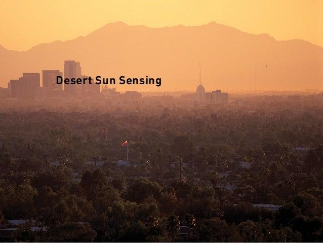 Desert Sun Sensing