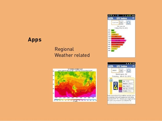 Apps Regional Weather related