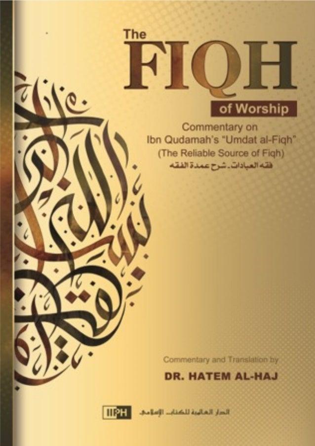Fiqh of Worship (1)  The International University in Latin America  شرح عمدة الفقه  Commentary on  'Umdat al-Fiqh  (The Re...