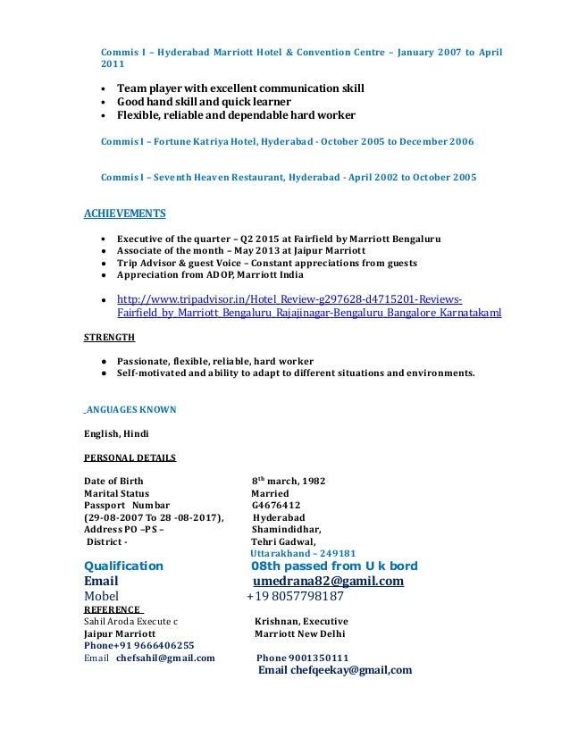 umed singh rana new resume