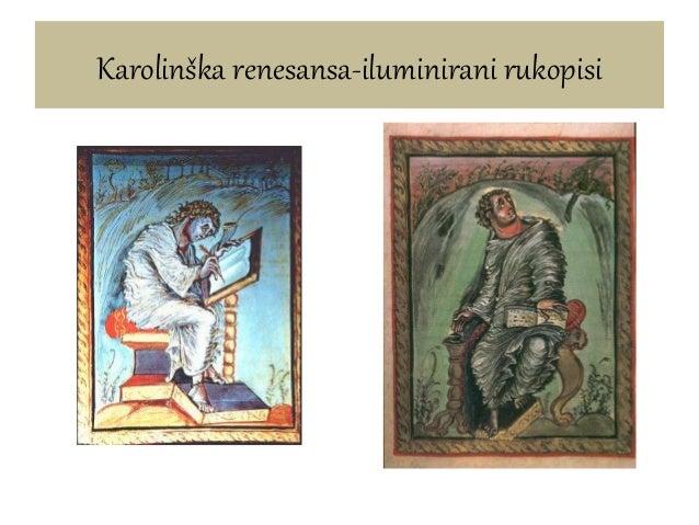Karolinška renesansa-iluminirani rukopisi