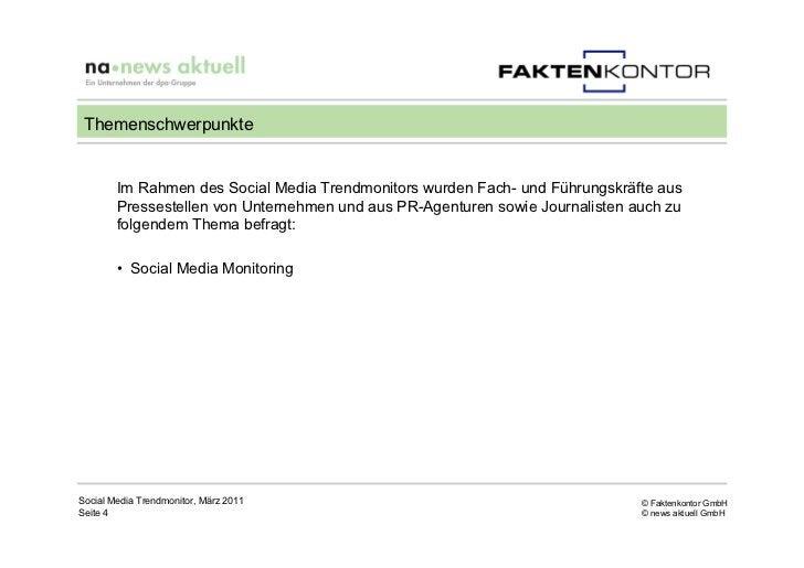 Themenschwerpunkte        Im Rahmen des Social Media Trendmonitors wurden Fach- und Führungskräfte aus        Pressestelle...