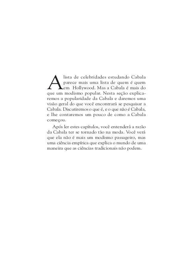 Um Guia Para a Sabedoria Oculta18 De Pequenos Grupos à Exposição Em Massa Mas a Cabala não foi sempre tão popular e os Cab...
