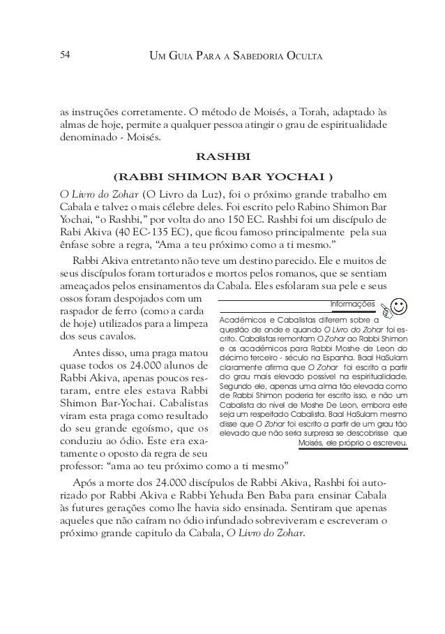 59 O Ponto Principal O objetivo da Cabala• O benefício dos livros de Cabala• Baal HaSulam e seus comentários sobre• O Z...