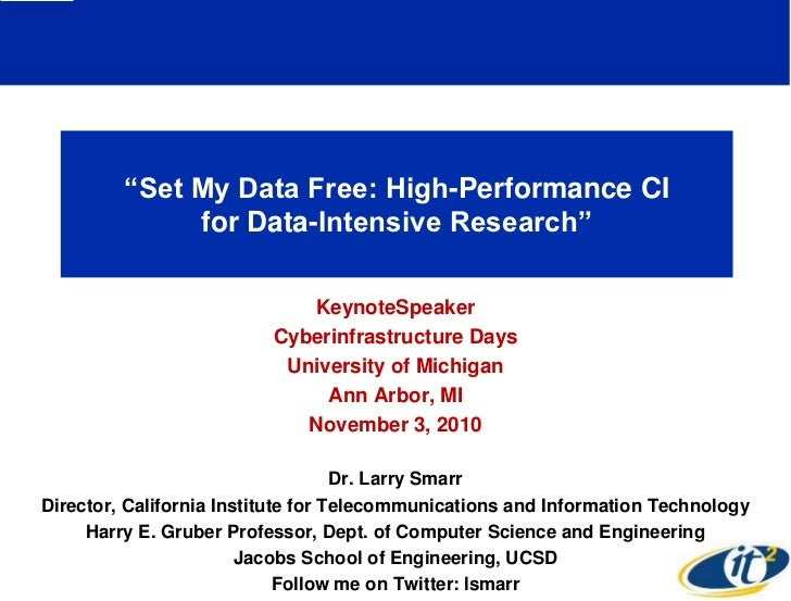 Set My Data Free: High-Performance CI for Data-Intensive Research