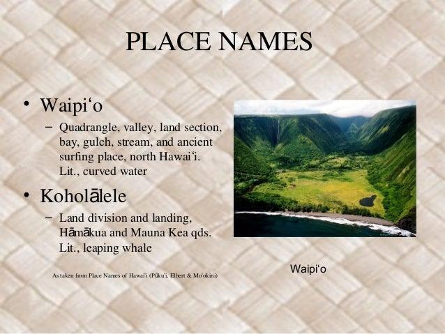 Umi+place+names Slide 2