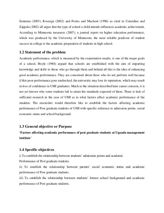 Measures to Producing an Educational Research Proposal