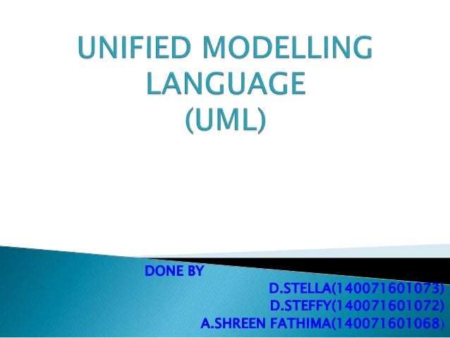 DONE BY D.STELLA(140071601073) D.STEFFY(140071601072) A.SHREEN FATHIMA(140071601068)