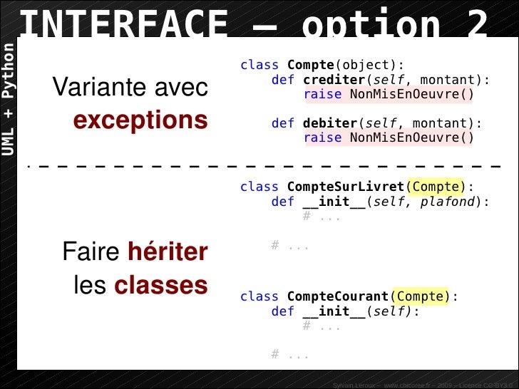 UML+Python