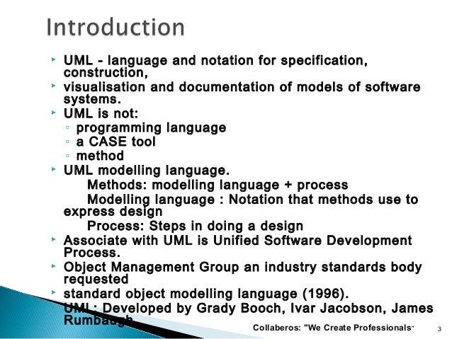 Uml unified-modeling-language-presented by dileep Slide 3