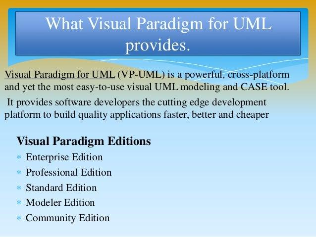 visual paradigm for uml - Visual Paradigm For Uml Community Edition