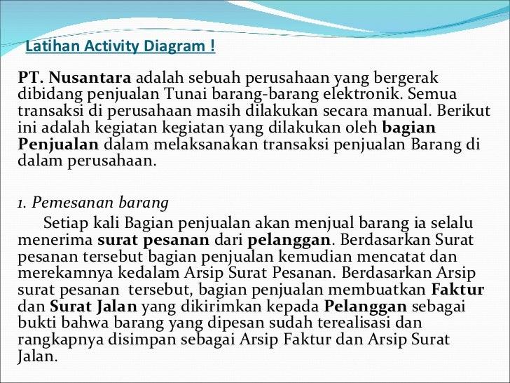 Uml pertemuan 2 activity diagram 21 latihan activity diagram ccuart Images