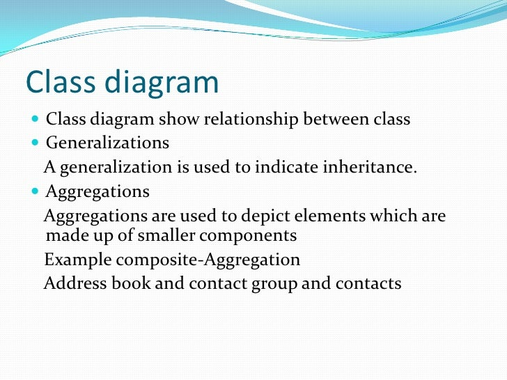 Uml presentation class diagram ccuart Image collections