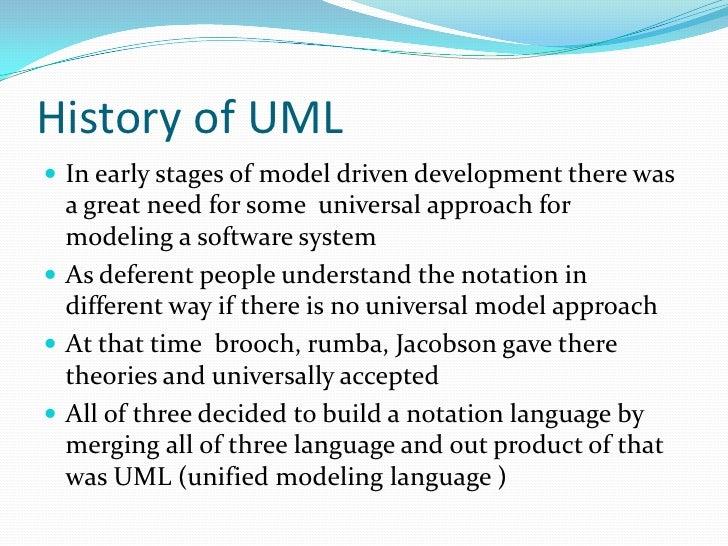 Uml presentation 4 history of uml toneelgroepblik Images