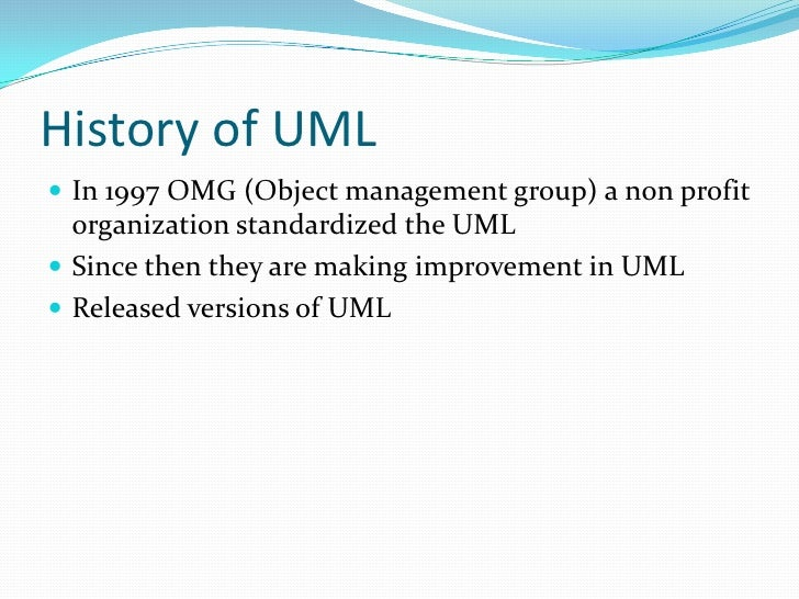 Uml presentation uml unified modeling language 5 toneelgroepblik Image collections