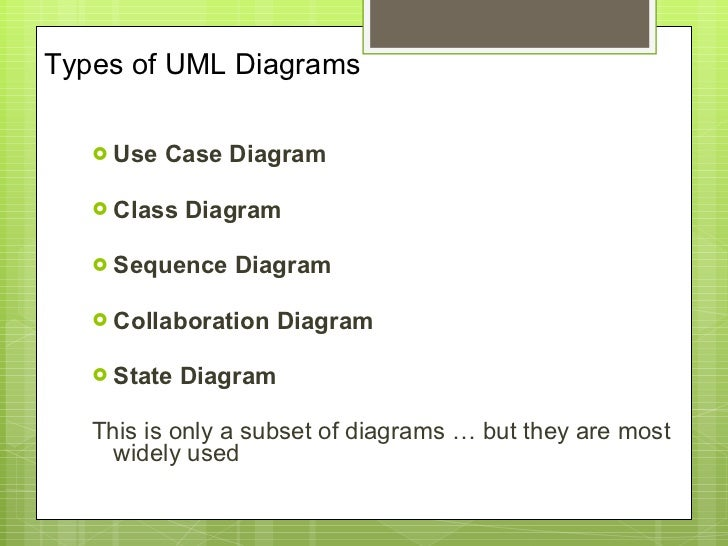 Uml report types of uml diagrams ccuart Images